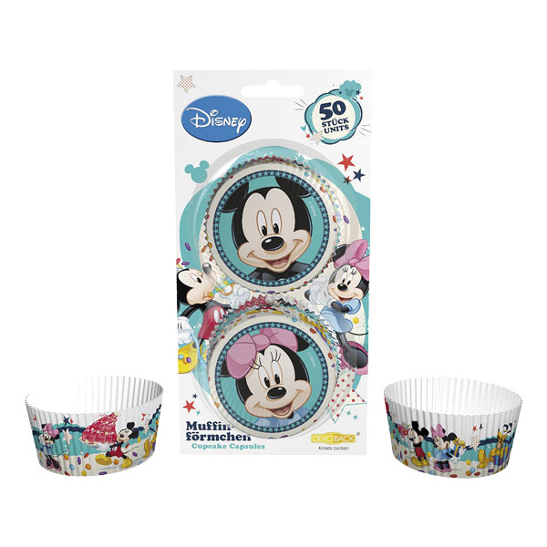 Muffinsforme Minnie & Mickey, 50 stk