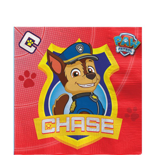 Image of Servietter, Paw patrol