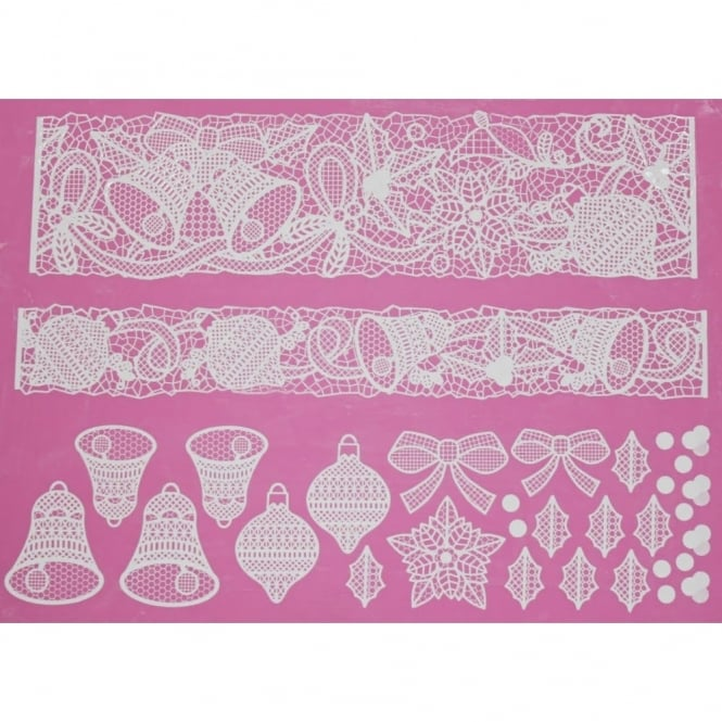 Image of Cake Lace Bells and bows