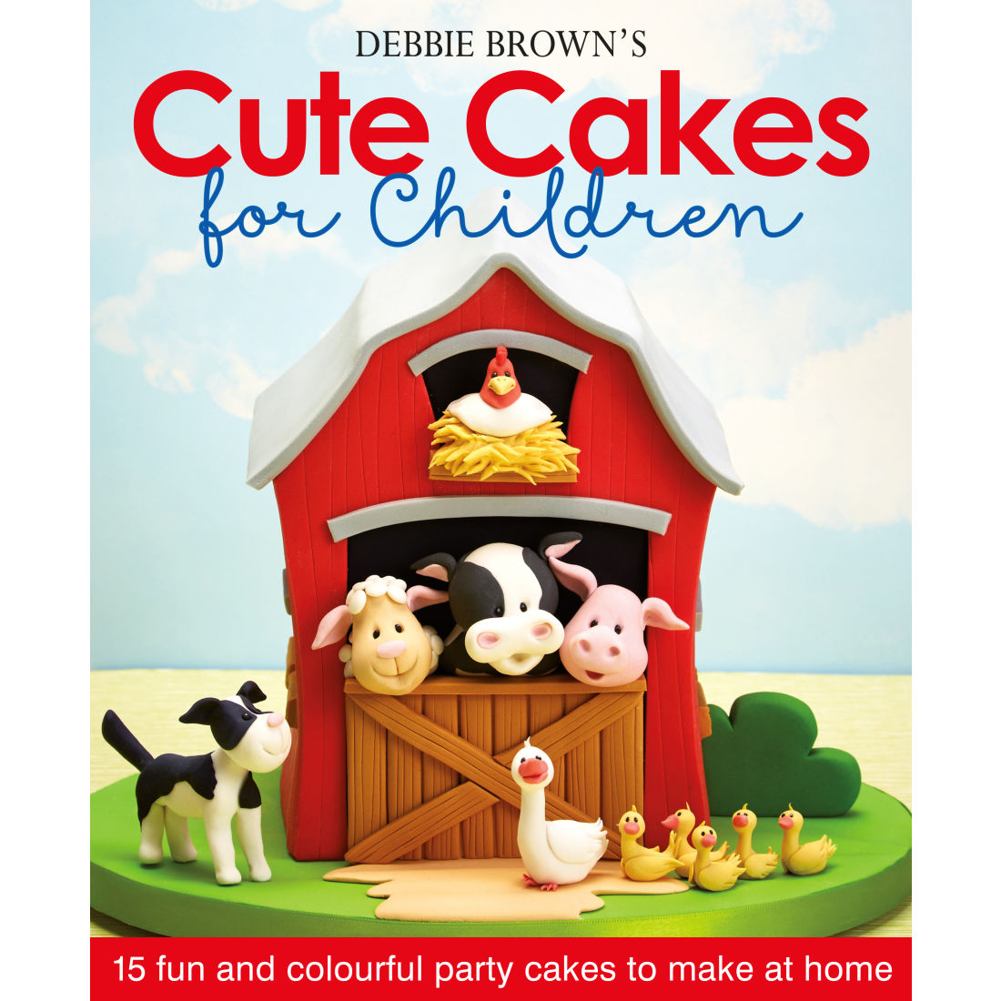 Image of Cute cakes for children, bog